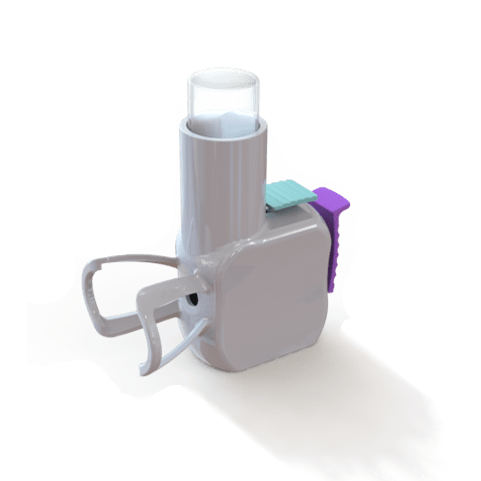Device that assist patients with eye drop placement.